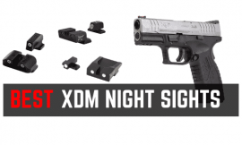 Best Night Sights For Springfield XD, XDm & XDS (Fixed Iron Sights)