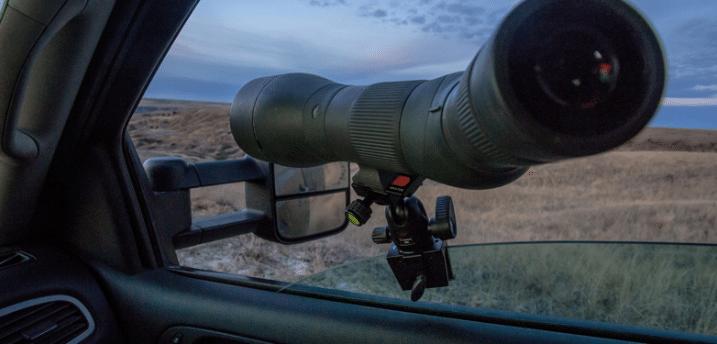 Car Window Spotting Scope Mount