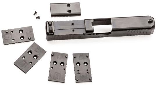GLOCK Slide optic mounting plates