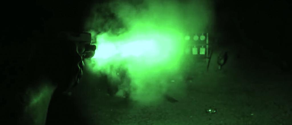 glock 19 night shooting