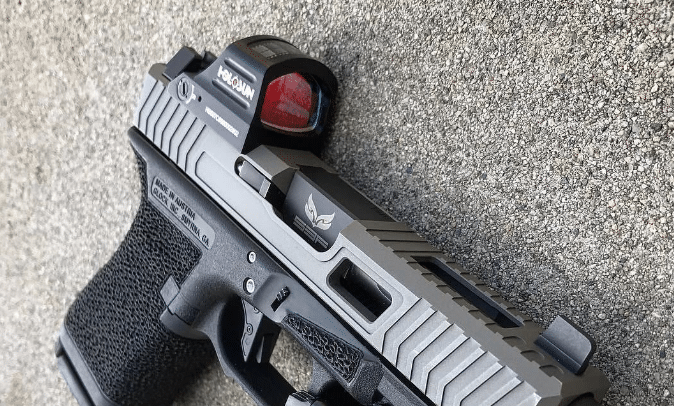 Holosun 407c on glock 19