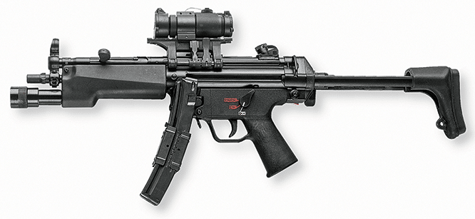 MP5 with Aimpoint PRO