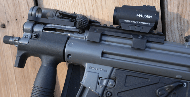 MP5 with holosun 503GU