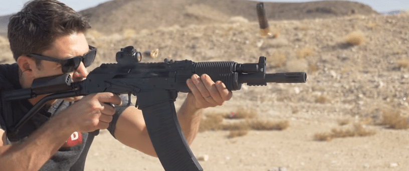 VEPR 12 full auto with burris TRS optic