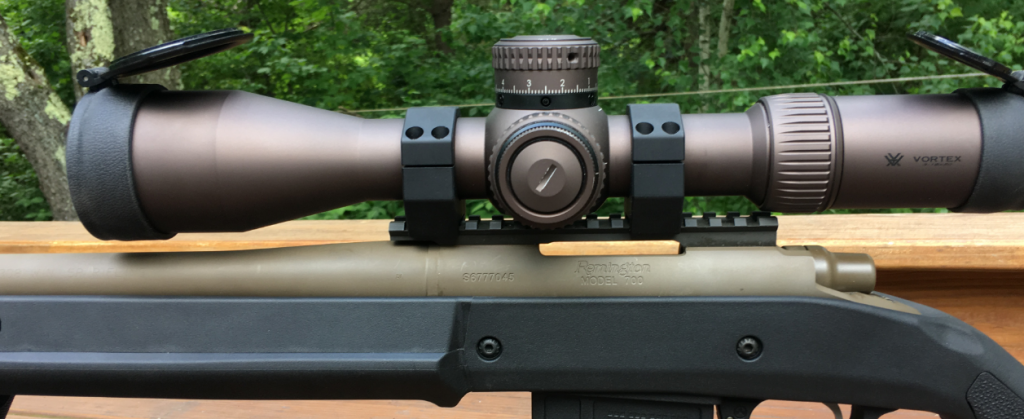 Vortex 34mm scope rings