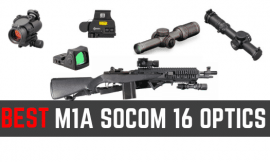 5 Best Scopes For M1A SOCOM 16 [Updated 2021]