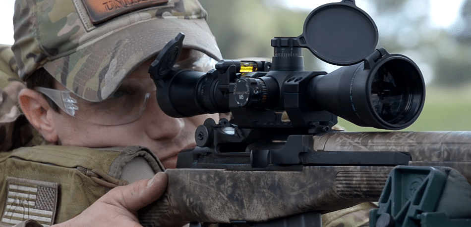 m1a rifle scope eye relief
