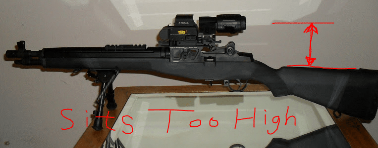 m1a sight height
