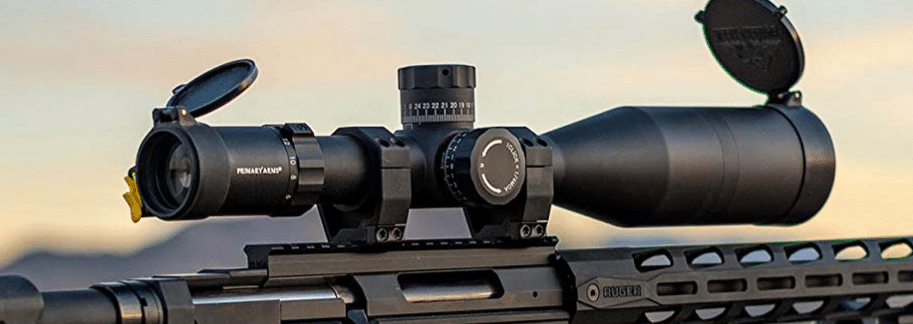 Ruger precision rifle with primary arms plx scope