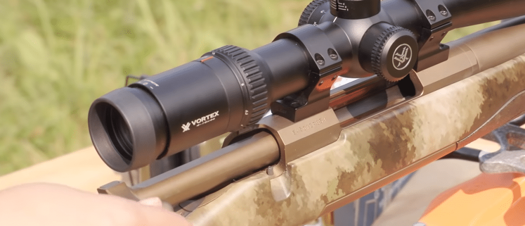 browning 270 x bolt rifle with vortex viper HS scope