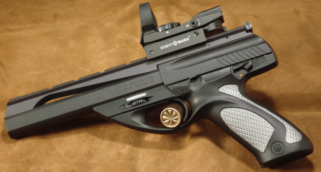beretta u22 neos with red dot sight