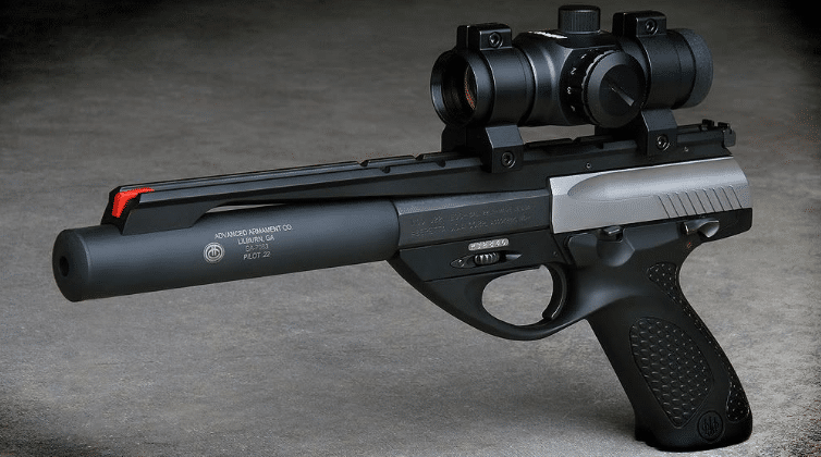 beretta u22 neos with scope