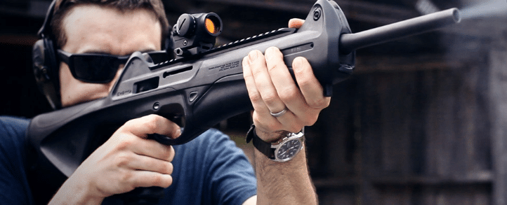 Beretta CX4 storm with Aimpoint Micro