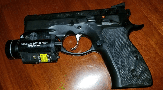 cz 75 p01 with streamlight tlr 2 hl g