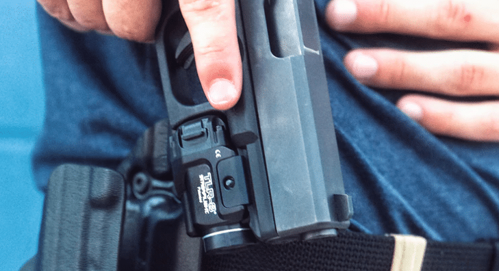 Glock 19 streamlight tlr 8 holster draw