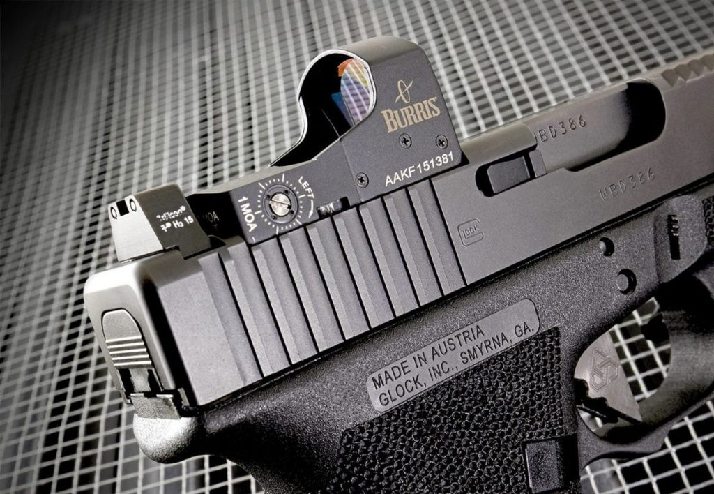 glock 19 with burris fastfire 3
