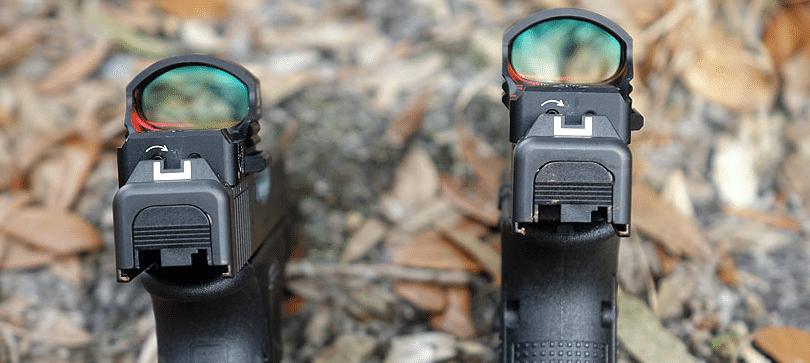 Glock 19 MOS with Vortex Razor red dot sight