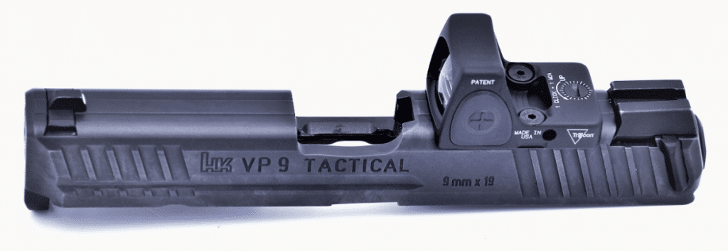 HK VP9 tactical slide with trijicon RMR