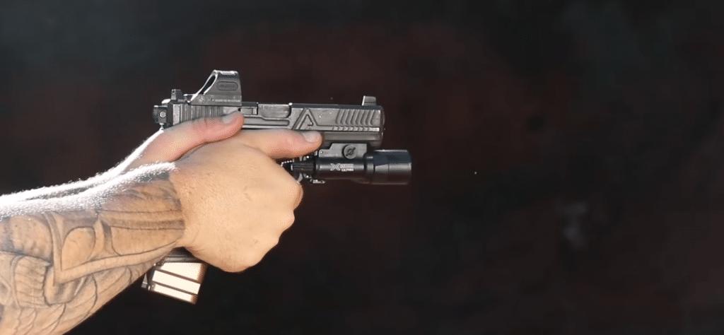 holosun 508t on glock with surefire
