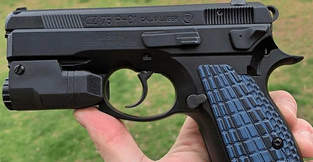 Inforce apl on CZ 75 P01