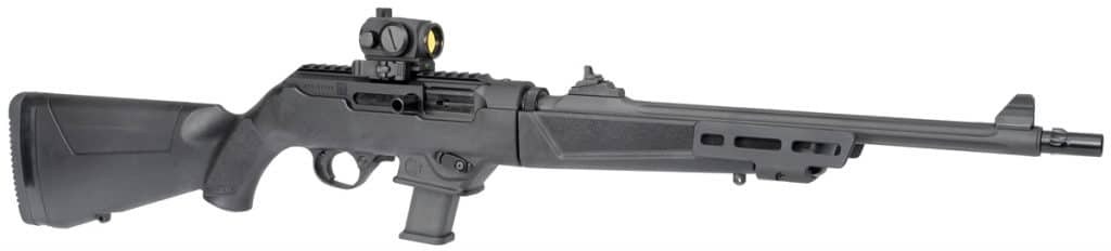 ruger pc9 with primary arms red dot