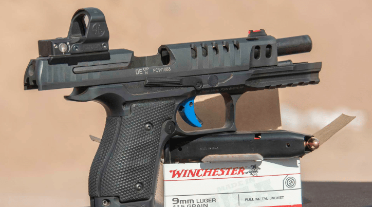 ppq q5 match SF with leupold deltapoint pro