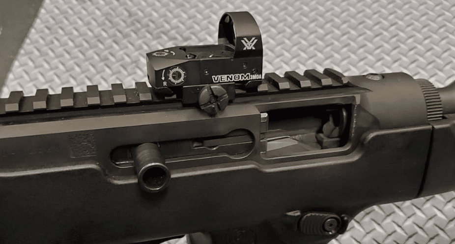 Ruger pc9 with vortex venom red dot sight