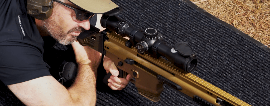 Nightforce optics on fn scar 20s long range
