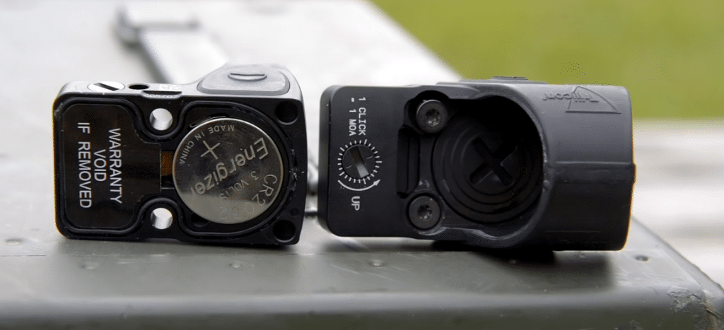 Trijicon RMR vs SRO battery