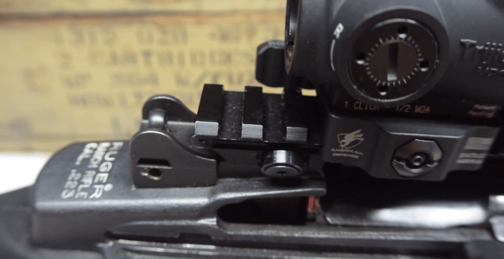 rujger mini 14 optic mount
