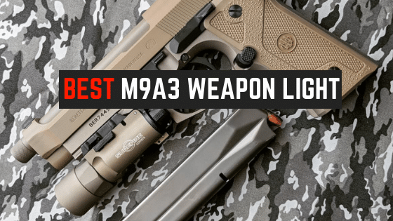 5 Best Weapon Lights For Beretta M9A3 [Non-Railed]