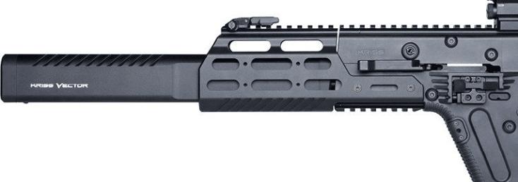 Kriss vector crb with MK1 modular rail
