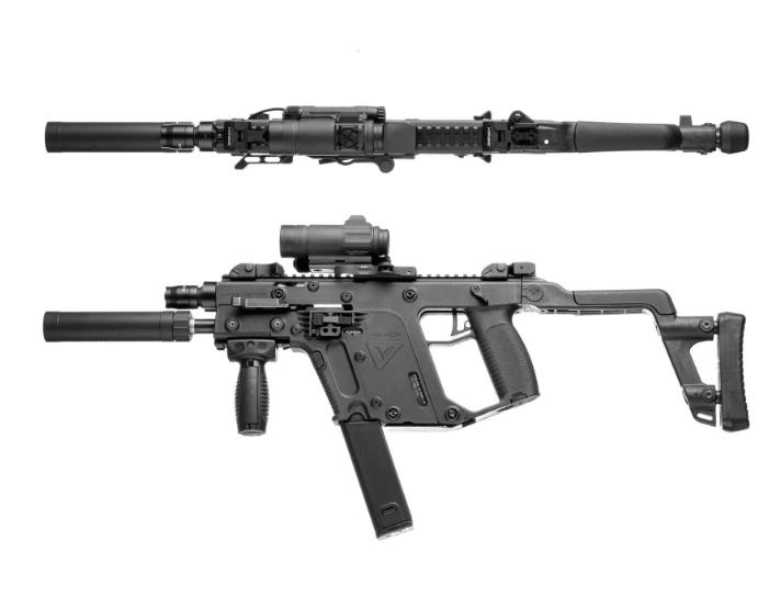 Kriss Vector gen 1 with surfire eb1 kit