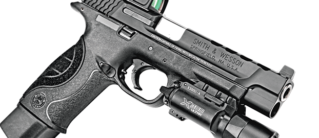Smith Wesson M&P with surefire x300