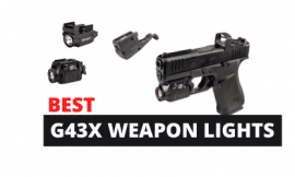 5 Best Weapon Lights For Glock 43x [Rail & Non-Rail]