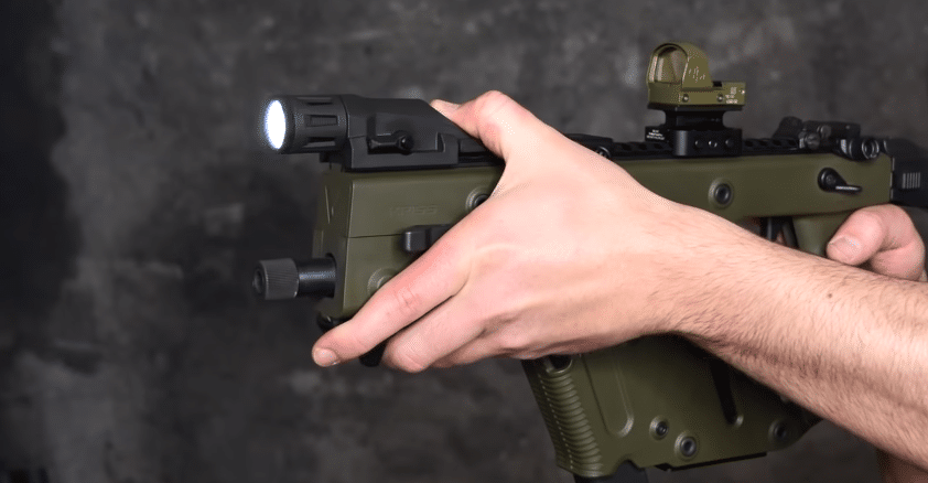 kriss vector with inforce weapon light