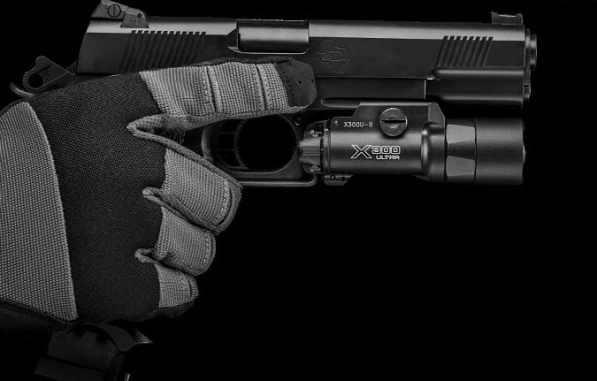 surefire xh35 on 1911 pistol