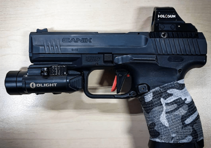 canik tp9sfx with olight