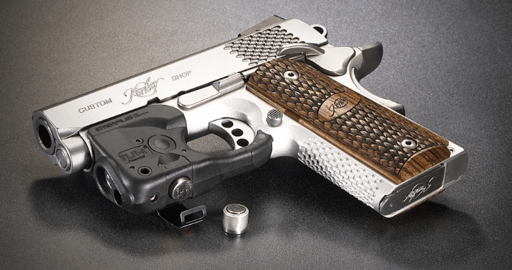 kimber micro 9 with streamlight tlr 6