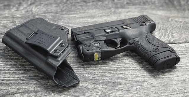 streamlight tlr 6 on smith wesson m&p shield 9 40