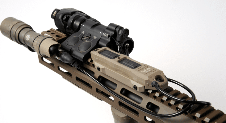 tnvc taps with surefire and MAWL laser