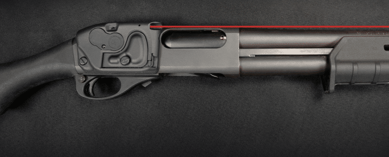 remington with crimson trace ls 870 red laser