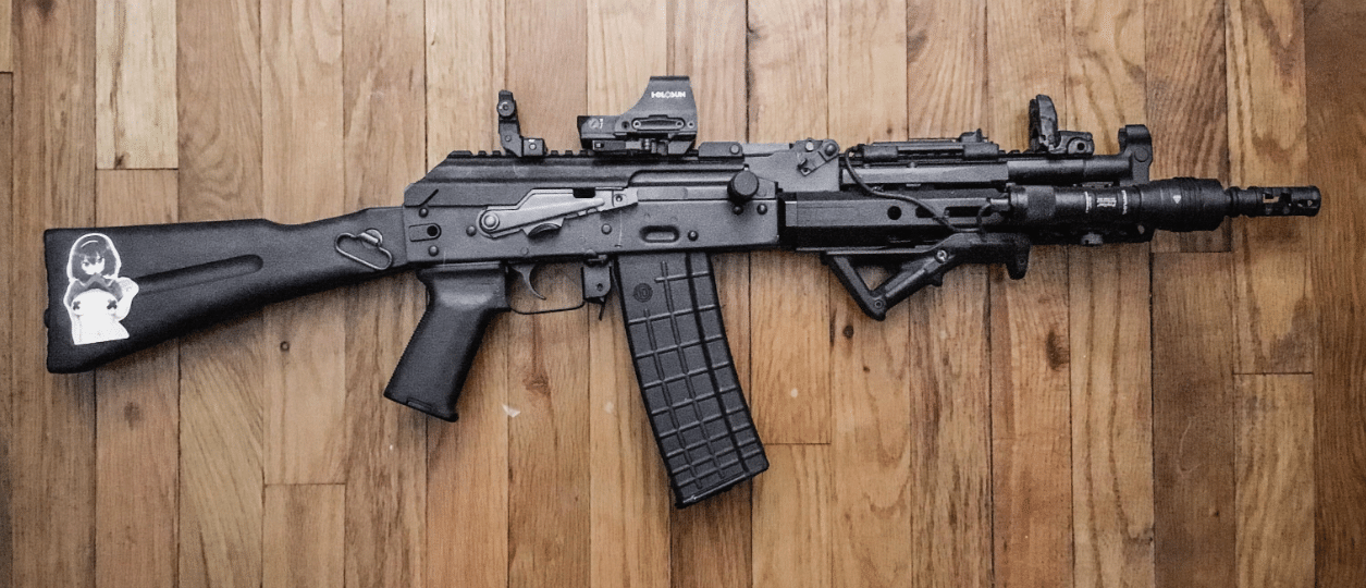 AK-with-TWS-rail-holosun-510c-and-streamlight-protac