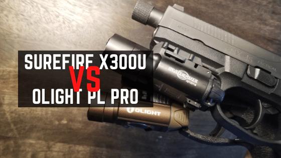 Olight PL Pro Valkyrie VS Surefire X300U