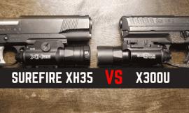 Surefire X300U VS XH35 – Side By Side Comparison Reviews