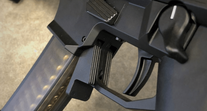 HB industries cz scorpion mag release lever