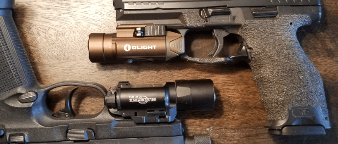Surefire-x300u-vs-olight-pl-pro-side-by-side
