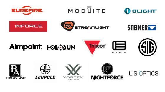 best flashlight and optics brands