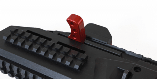 enlarged CZ scorpion charging handle