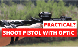 "How To Shoot an ""SBR"" Pistol With an Optic"